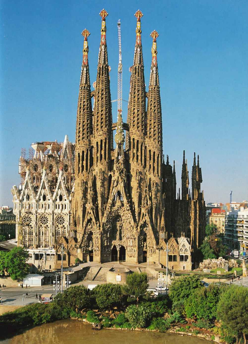 routes sagrada familia